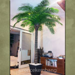 Artificial Palm Tree, Wood Trunk T3m - AT25